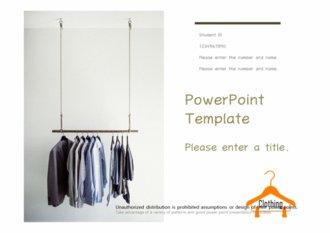 [패션 옷걸이테마 PPT배경] - 옷걸이 행거 패션 옷 의류 유통 인터넷쇼핑 홈쇼핑 배경파워포인트 PowerPoint PPT 프레젠테이션