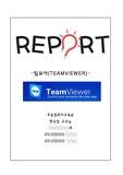 TeamViewer(팀뷰어) 보고서