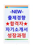 합격자기소개서샘플 자기소개서성장과정+자소..
