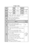 단위활동 계획안(나와가족)
