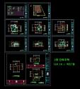 [건축설계][캐드도면][단독주택] - 전원주택 2층 단독주택  169.14 ㎡ 약51평 캐드도면입니다