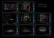 [건축설계][캐드도면][단독주택] - 소규모 1층 단층 단독주택97.90 ㎡ 약 30평형캐드도면입니다.