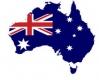 일러작업 - 호주지도(국기,입체효과)