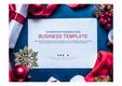 PPT 비즈니스 템플릿 양식(크리스마스)(Business Templates)