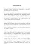 [영어작문/영어영작/영어발표/영어스피치/영어에세이]  Tips for Good Writing Skills  (글쓰기를 잘하는 방법)