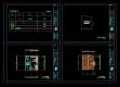 [건축설계][캐드도면][단독주택] -전원주택 남양주에 계획잡아본 1층 단독주택 캐드도면입니다.(약24평)