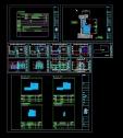 [건축설계][캐드도면][근린생활시설] - 상업시설,근린생활시설(소매점,일반음식점 지상3층,연면적212㎡,건축면적 265.39㎡ 계획 잡아본 도면입니다.