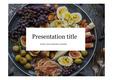 요리PPT 식품 영양 헬스식품 건강 건강식품 비타민 채소 PPT템플릿
