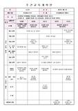 2017년 유치원 만4세 3월 주간교육계획안