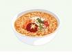 라면 음식 일러스트 AI (instant-noodles) (pangda)