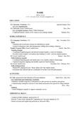 대기업외국계합격 고급 영문영어 이력서 템플릿(원어민박사 감수완료) - 영어이력서 작성 서식 (인문사회계열용)