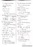 물리화학1 중간고사 대비 자료 (엣킨스)