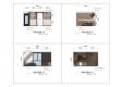 칼라링 작업(PSD파일) - H디자인호텔 객실 입면도-1006