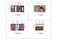 칼라링 작업(PSD파일) - H디자인호텔 객실 입면도-1002