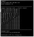 힙 정렬(heap sort) C프로그래밍 소스코드