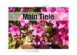 파워포인트 표지(봄, 꽃) v25