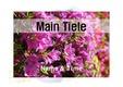 파워포인트 표지(봄, 꽃) v30