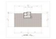 칼라링 작업(AI파일) - D아파트 A동 옥상층 평면도