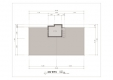 칼라링 작업(AI파일) - D아파트 A동 옥탑층 평면도