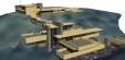 프랭크 로이드 라이트 (Frank Lloyd Wright) - '낙수장' 스케치업 SKP 3D모델링 파일입니다