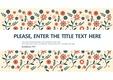 172 꽃 배경 PPT 템플릿 테마(꽃 패턴 배경, 꽃 피피티, 꽃 배경 피피티, 꽃 PPT 배경,꽃 일러스트) 피피티몰