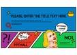 174 화려한 팝아트 PPT 테마 (독특한, 화려한, POP ART PPT, 독특한 피피티테마, 템플릿 PPT)고양덕양체 피피티몰