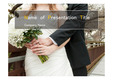 웨딩테마 PPT - 웨딩, 결혼식17