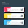 수채화 색상 컬러풀 인포그래픽 03