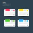 수채화 색상 컬러풀 인포그래픽 11