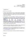 [호주 워킹홀리데이] Cover letter & resume (브리즈번 잉햄공장 합격 이력서)