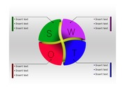 SWOT 분석 <strong>PPT</strong> <strong>다이어그램</strong>