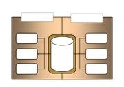 파워포인트 다이어그램 및 도형 서식 템플릿