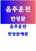 <strong>음주</strong><strong>운전</strong><strong>반성</strong><strong>문</strong>