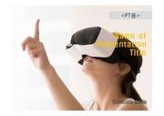 PPT양식 템플릿 배경 흑백사진형17 - VR, 가상현실9