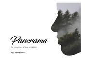 현대적이고 창의적인 panorama ppt양식 / 편집용이 / 회사소개서 / 사업제안서 / ppt디자인 / ppt제작 / ppt테마 / ppt템플릿/ 파워포인트템플릿 / 파워포인트 디자인 / 제안서디자인 / 프레젠테..