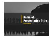 군인테마 PPT - 군인, 군사8(블루2)