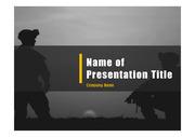 군인테마 PPT - 군인, 군사10(컬러1)