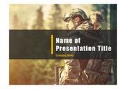 군인테마 PPT - 군인, 군사12(컬러1)