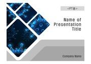 PPT양식 템플릿 배경 흑백사진형17 - 의학, 바이러스, 신종 코로나1