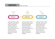 ppt다이어그램 - 2428(그래픽 타입, 의학, 아이콘, 서술형, 3단계, 컬러 )