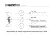 ppt다이어그램 - 2455(그래픽 타입, 예방접종, 인체, 남녀, 서술형2, 흑백)