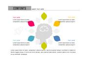 ppt다이어그램 - 2623(그래픽 타입, 학습, 창의력, 아이, 아이콘, 컬러1)