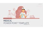 병원 간호 관련 발표에 효과적인 템플릿
