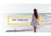 사진을 적극 활용한 PPT 템플릿 !