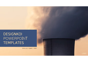 미세먼지 환경오염 관련 발표에 효과적인 영상 템플릿