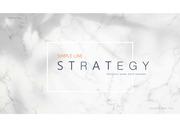 전략 기획 리서치 관련 발표에 효과적인 영상 템플릿