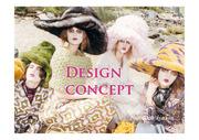 디자인 컨셉 PPT 핑크 템플릿