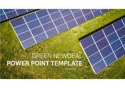 그린뉴딜 및 태양광 관련 발표에 효과적인 템플릿입니다