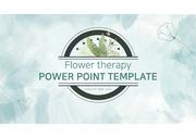 식물을 테마로 디자인한 심플하고 주목도 높은 영상 ppt 템플릿 입니다
