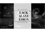 우주 일러스트, 예쁜 BLACK GALAXY DESIGN